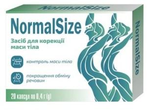 NormalSize капсулы для похудения