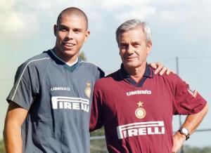 Simoni con Ronaldo