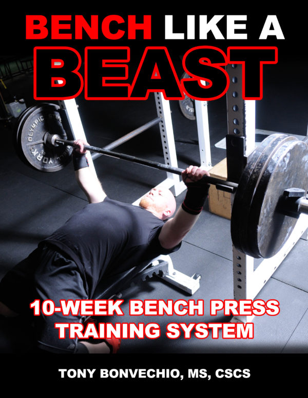 10 Keys To A Big Bench Press Part 1 Tony Bonvechio