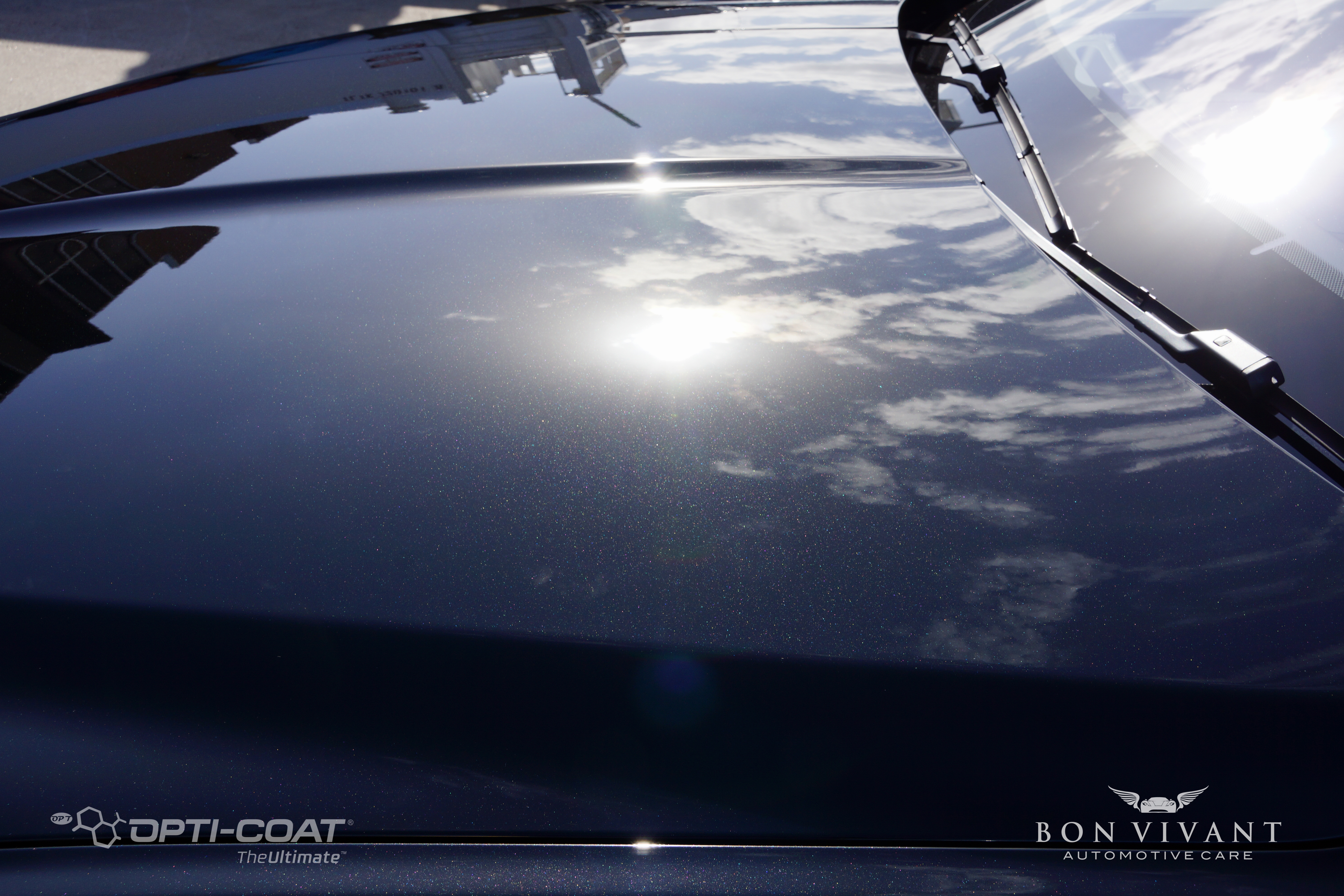 Bon Vivant Paint Protection Coating | Opti-Coat Pro+ | Jaguar XE 2.5t