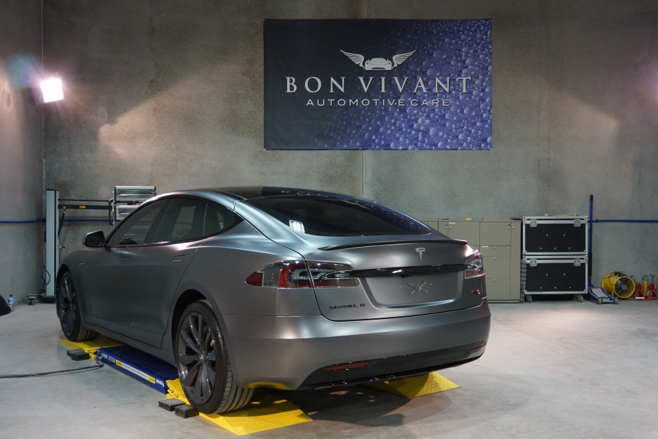Bon Vivant Paint Protection Coating | Opti-Coat Pro+ | Tesla Model S P90D