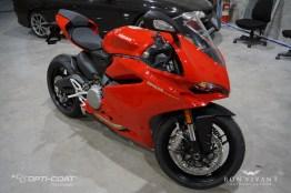 Bon Vivant Paint Protection Coating | Opti-Coat Motorcycle Protection | Ducati 959