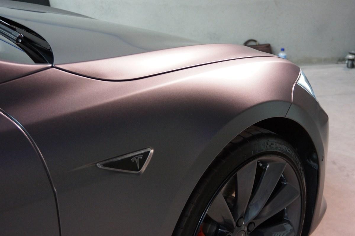 Car paint protection coatings Melbourne Tesla