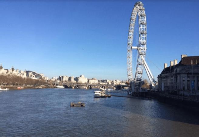 London eye- Photo by: Anna Luisa Van Haute