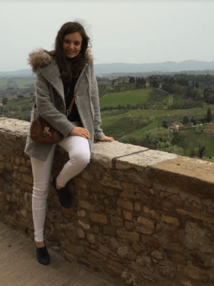 View from the top of San Gimignano - photo by: Giovana Van Haute