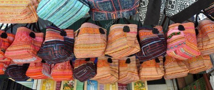 Visite marché ethniques à Sapa
