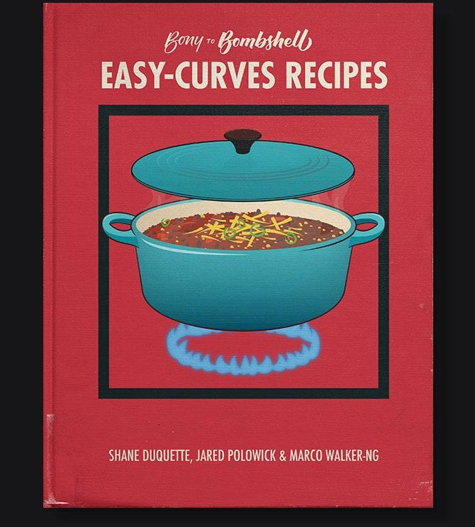 Bony to Bombshell: Recipes