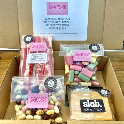 Surprise Bonza Confectionery Box - Small Square