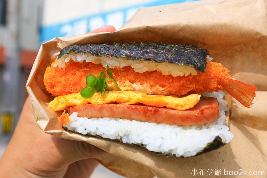 沖繩美食豬肉蛋飯糰本店-三明治飯糰