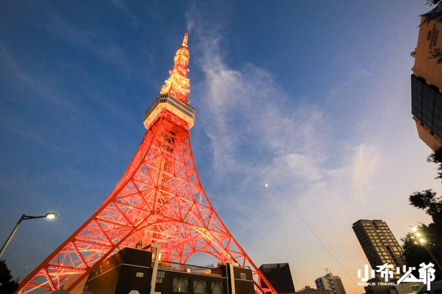 東京鐵塔經典拍攝景點