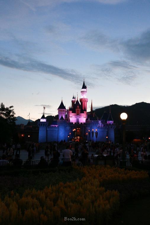 香港 迪士尼一日遊 票價 快速通關 表演時間-182