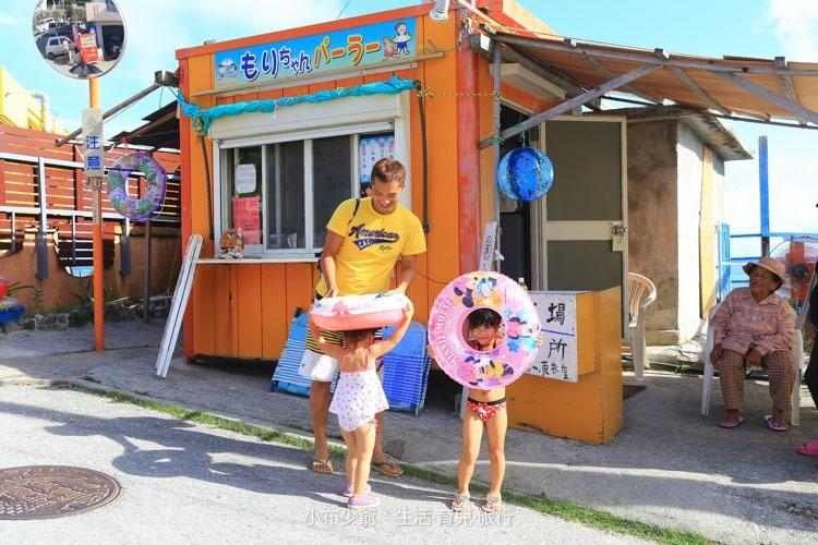 日本 沖繩 新原沙灘 玩水行程-56