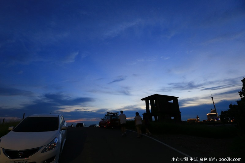 淡水油車口 漁人碼頭 落日攝影-7878