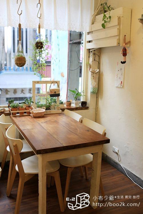 [台北大安]永康街的Zakka Zoo 2F 甜點屋‧手作、下午茶、日雜貨