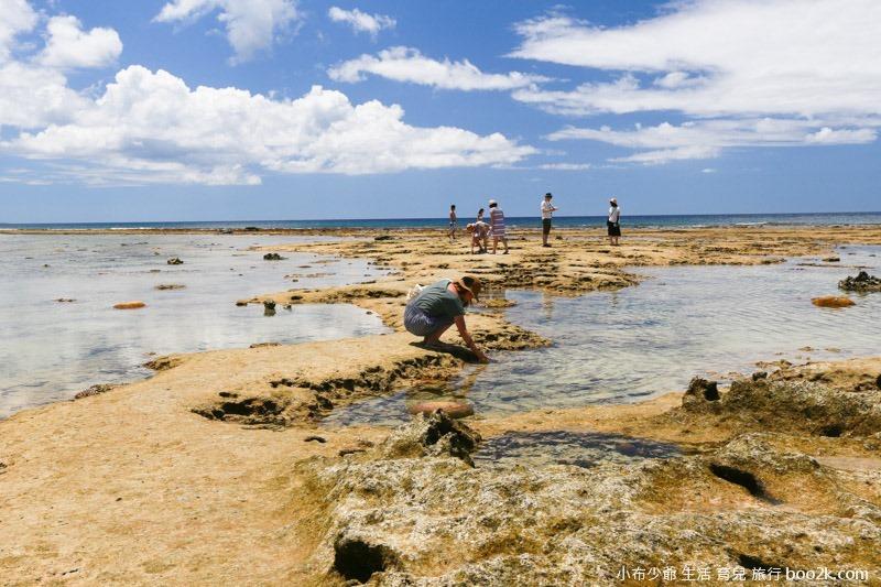 2016沖繩愛心礁石 潮間帶-3275