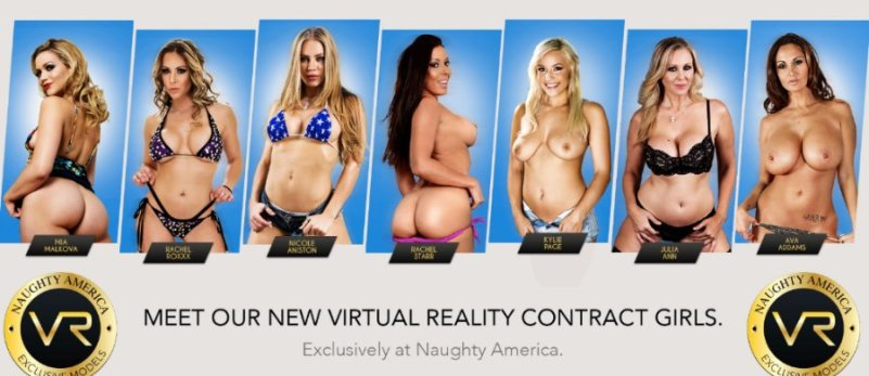 VIRTUAL REALITY SEX BY NAUGHTY AMERICA