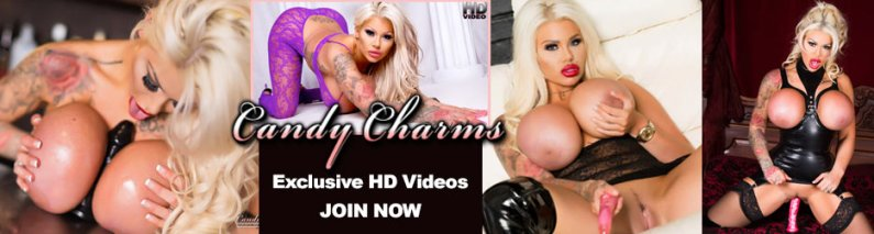BUSTY BARMAID: CANDY CHARMS SET & HD VIDEO!