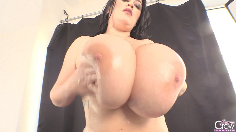RED SHEER BRA 2: NEW LEANNE CROW HD VIDEO.