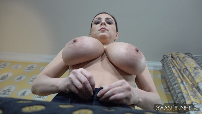 WHO SUCKED ON MY BIG BREASTS?
