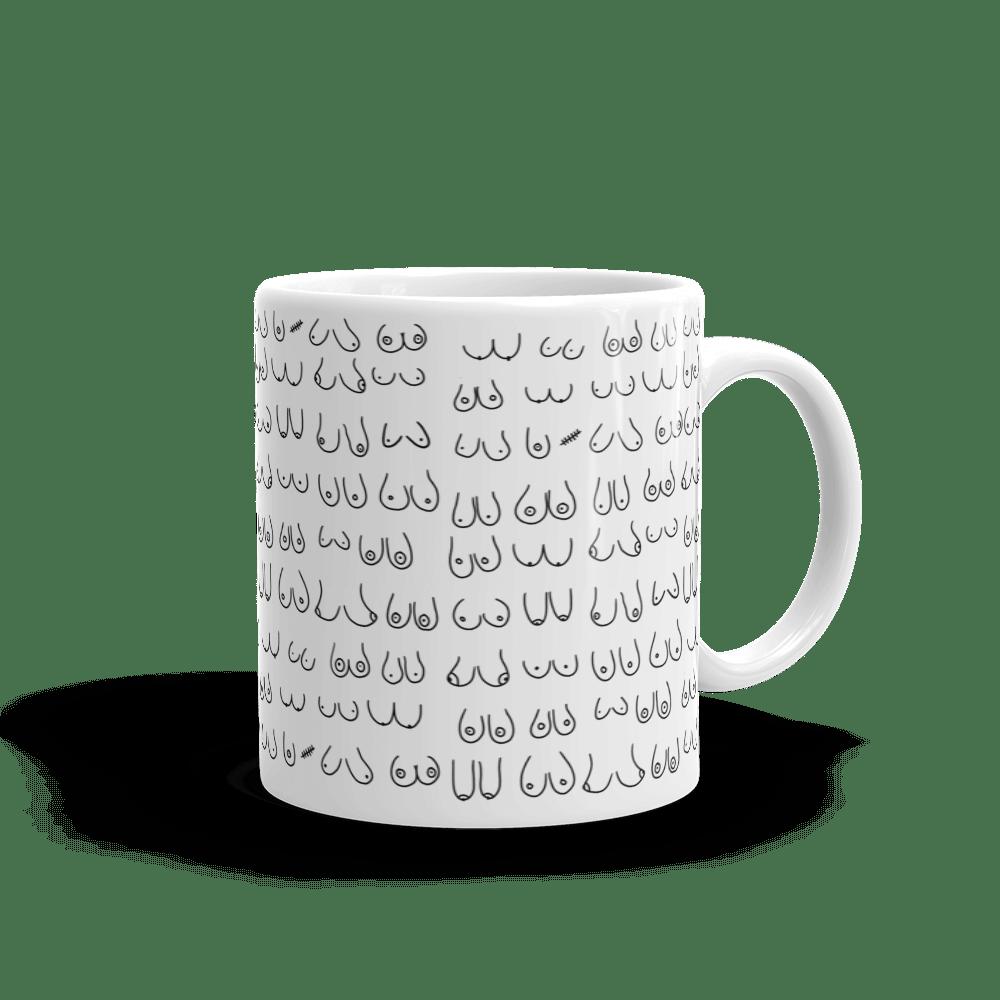 boobs mug