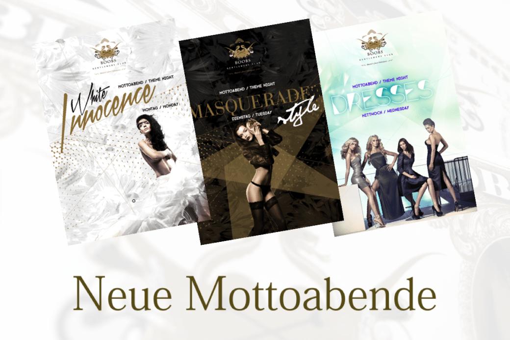 Mottoabend / Theme Night im BOOBS Gentlemen's Club - Munich's finest Tabledance Club