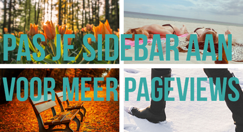 Sidebar aanpassen in wordpress