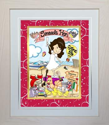 Personalised Hen Party Gift (For The Bride-To-Be)