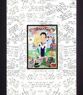 Mr & Mrs Wedding Message Board