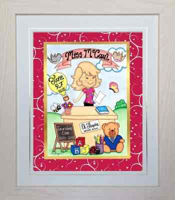 Thank You Teacher – Personalised Gift