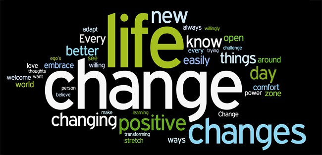 Life Changes Tag Cloud