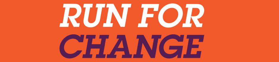Run For Change Logo