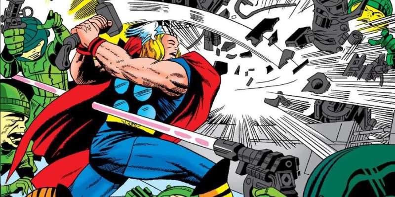 Thor par Jack Kirby