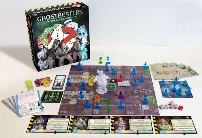 Plateau de Ghostbusters : The Boardgame