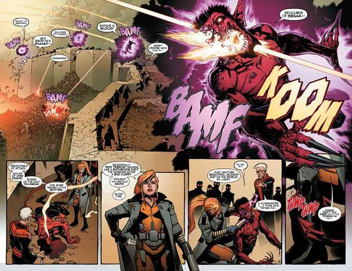 Extrait de Secret Wars - Marvel Zombies