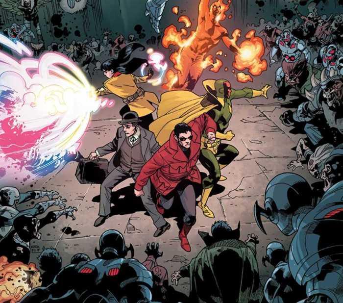 Extrait de Secret Wars - Marvel Zombies