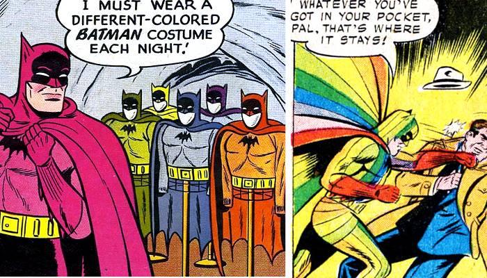 Les pires costumes de Batman