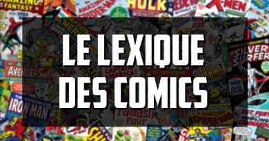 Le lexique des comic-books
