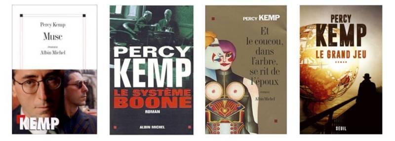 Couvertures des livres de Percy Kemp