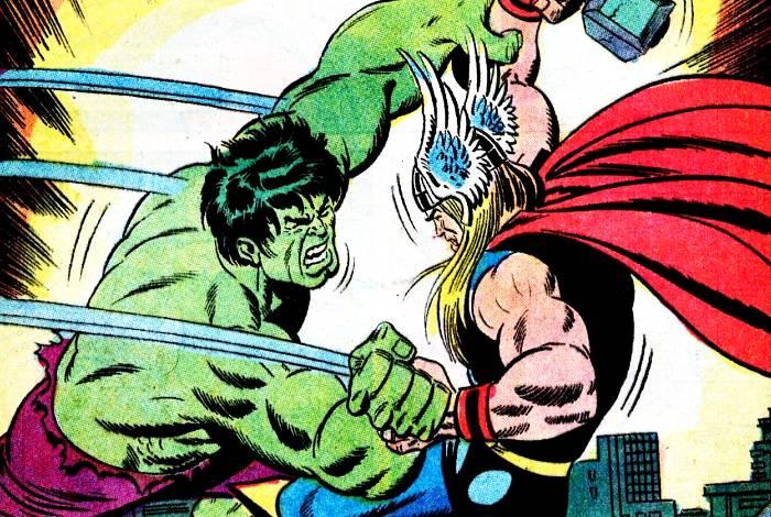 Les meilleurs combats entre Thor et Hulk