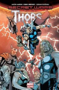 Couverture de Secret Wars Thors
