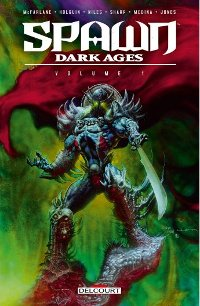 Couverture du tome 1 de Spawn Dark Ages