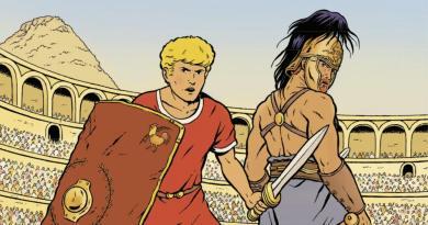 ALix Le Sermet du gladiateur