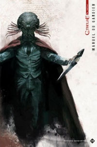 Couverture du manuel du gardien pour L'Appel de Cthulhu 7e édition