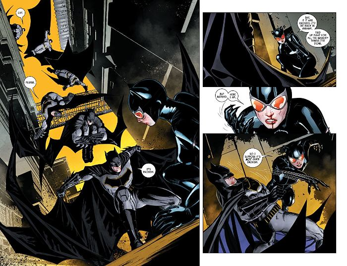 Extrait du comics Batman Rebirth tome 2