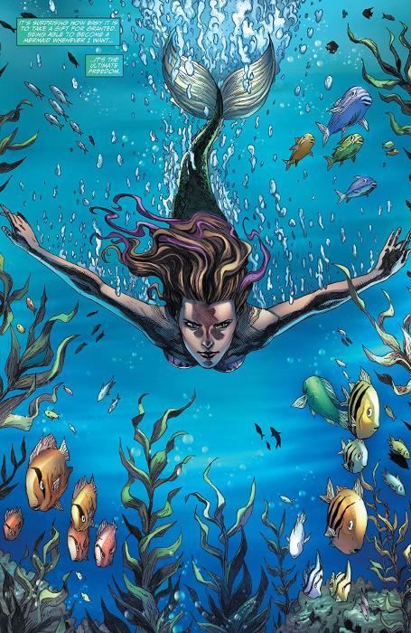 Extrait du comics La Petite Sirène
