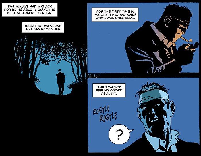 Extrait du comics Moonshine tome 1