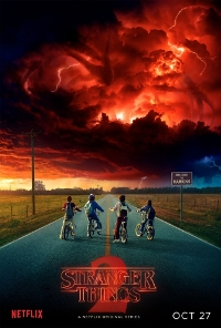 Affiche de la saison 2 de Stranger Things