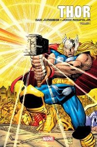 Couverture de Thor par Dan Jurgens et John Romita Jr tome 1