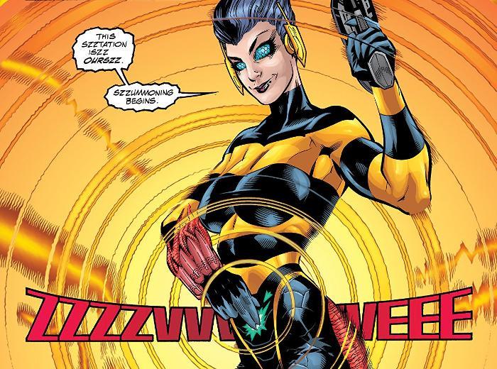 Extrait du comics « Justice League of America, tome 4 »