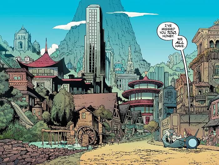 Extrait du comics Reborn de Mark Millar et Greg Capullo
